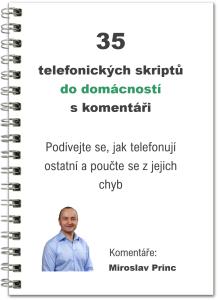 telefonické skripty do domácností obálka