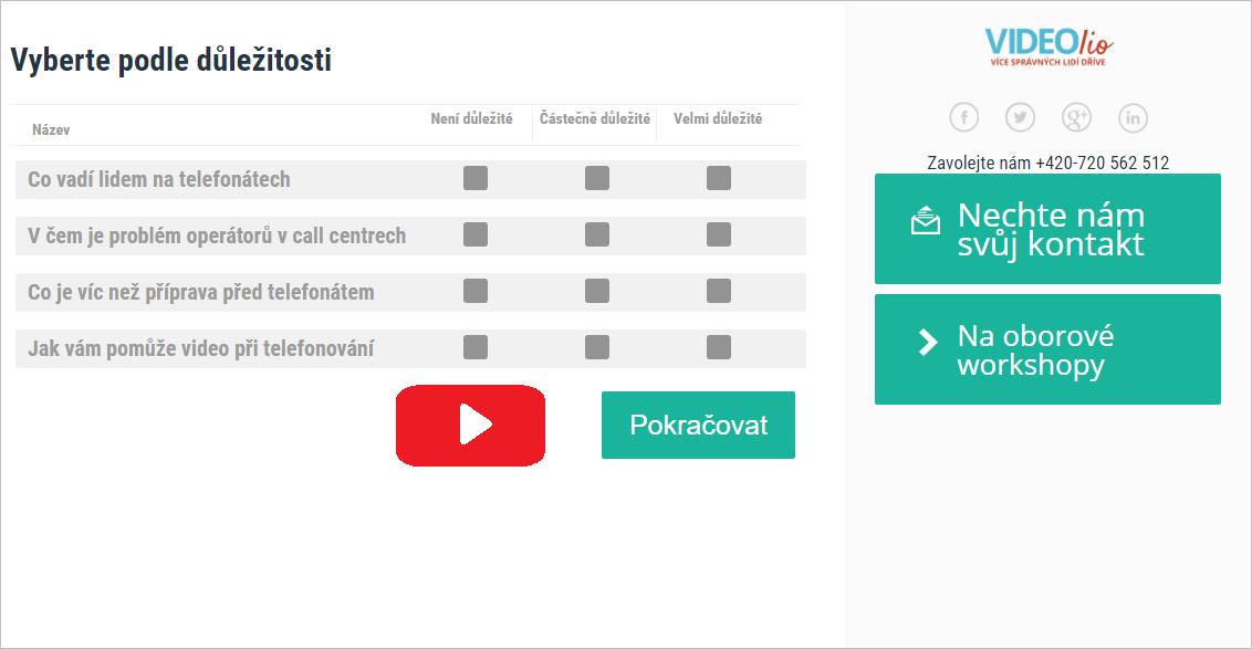 Miroslav Princ video telefonování